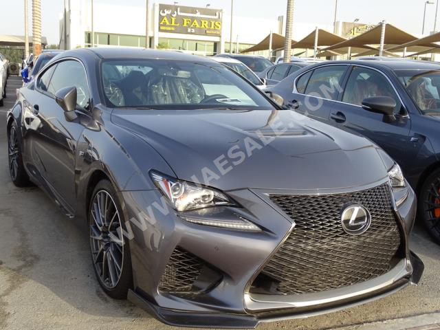 Lexus - RC for sale in Sharjah